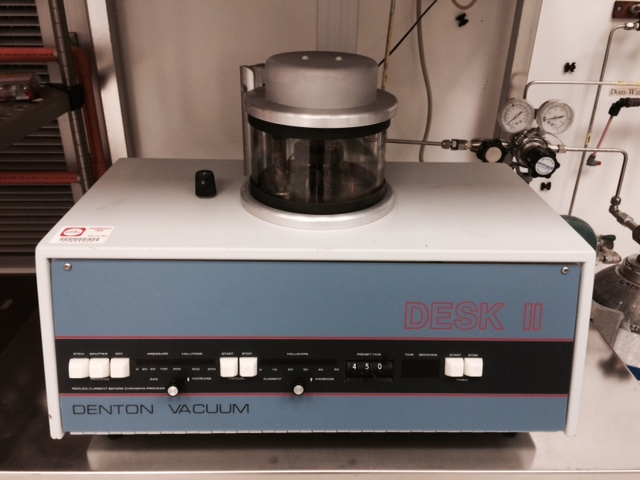 Denton Desk II Sputter Coater