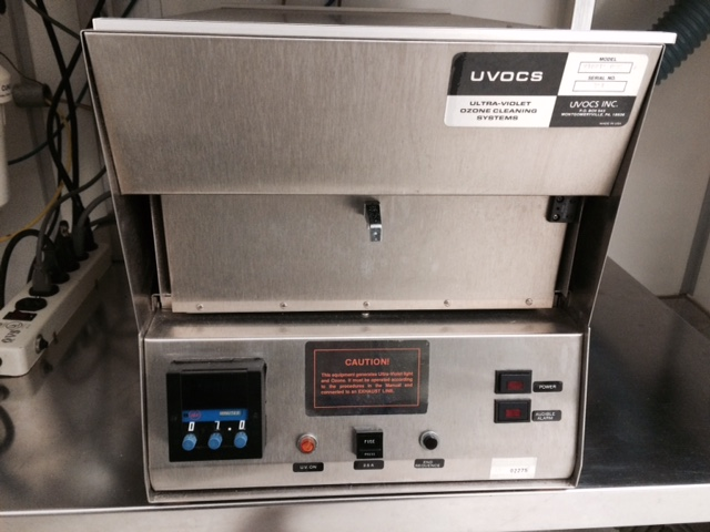 Ultraviolet Ozone Cleaning System